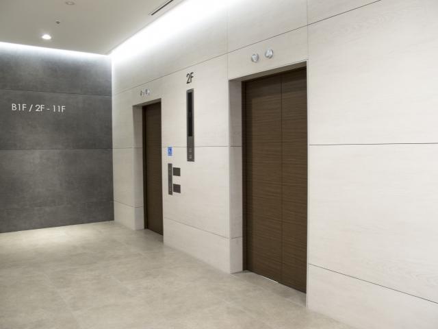 防犯カメラ エレベーター